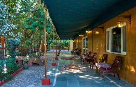 Verandah Garden Palace Heritage Homestays Balasinor Gujarat